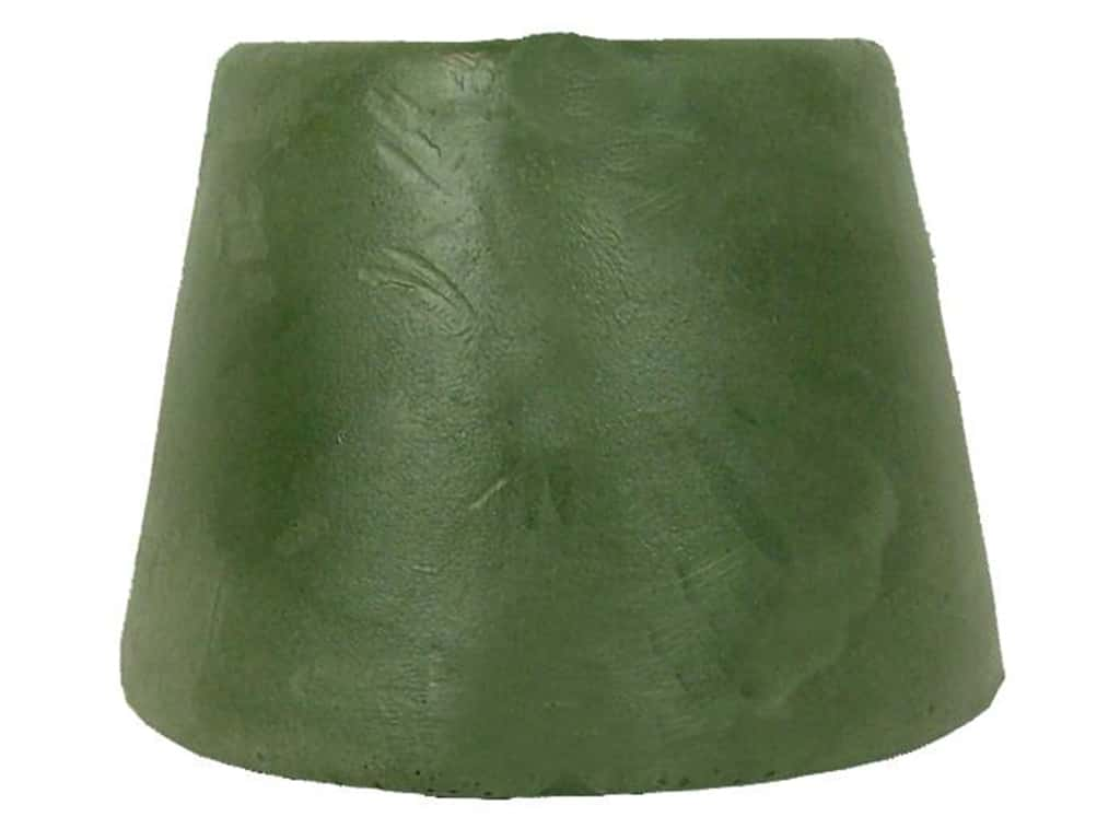 FloraCraft Urethane Tapered Weighted Base 6 in. Green (16 pieces)