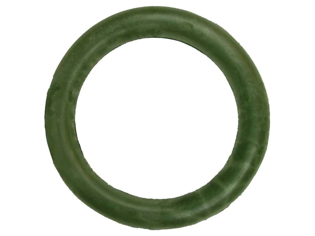 FloraCraft Urethane Wreath Molded 18 in. Green (12 pieces)