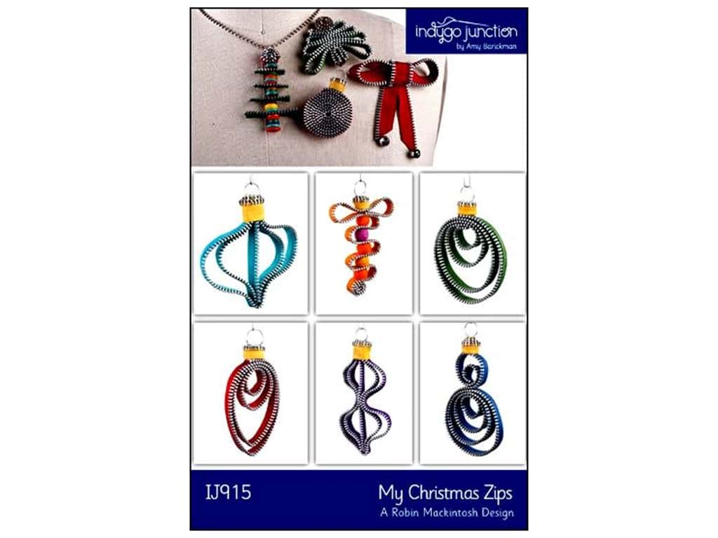 Indygo Junction Patterns - My Christmas Zips