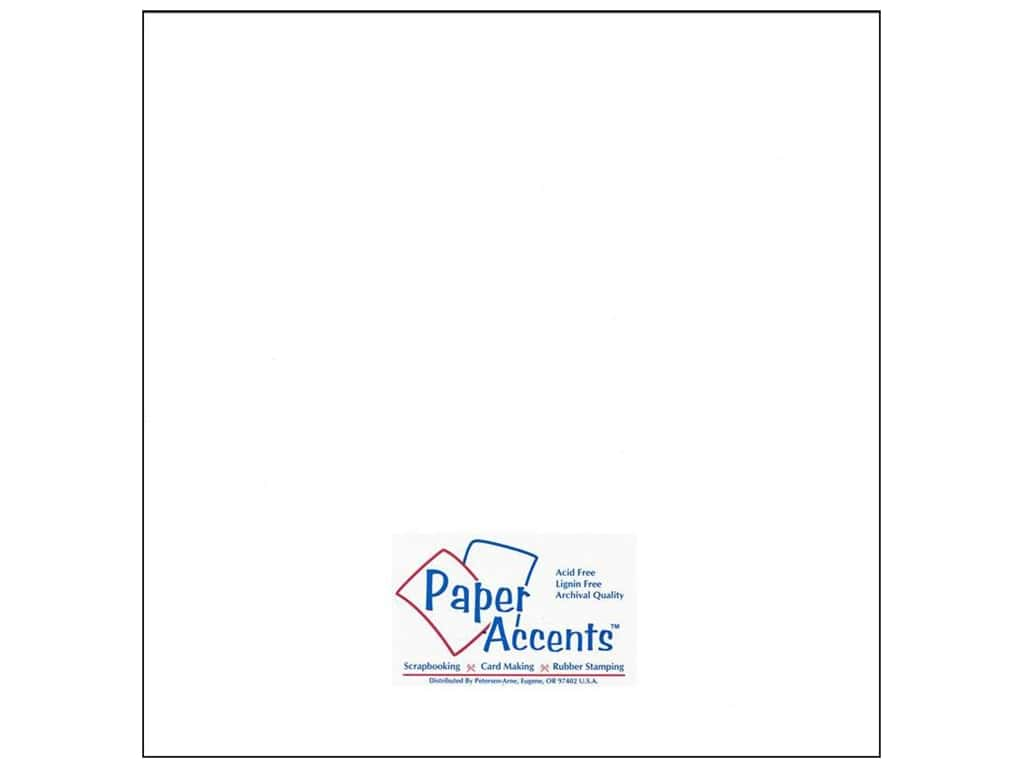 Paper Accents Cardstock 12 x 12 in. #72 Smooth Dusty White (25 sheets)