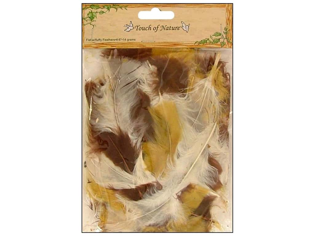 Midwest Design Turkey Flat Feathers 14 gm. 4 - 6 in. Earth