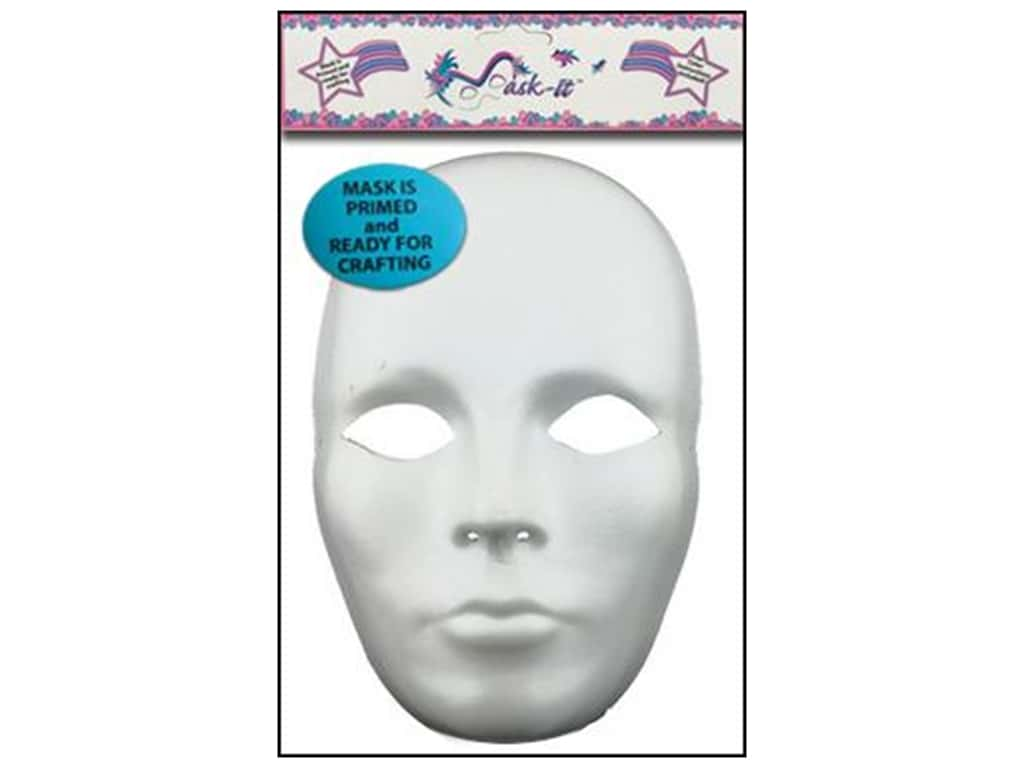 Midwest Design Mask It Female Mask 9.5 in. White