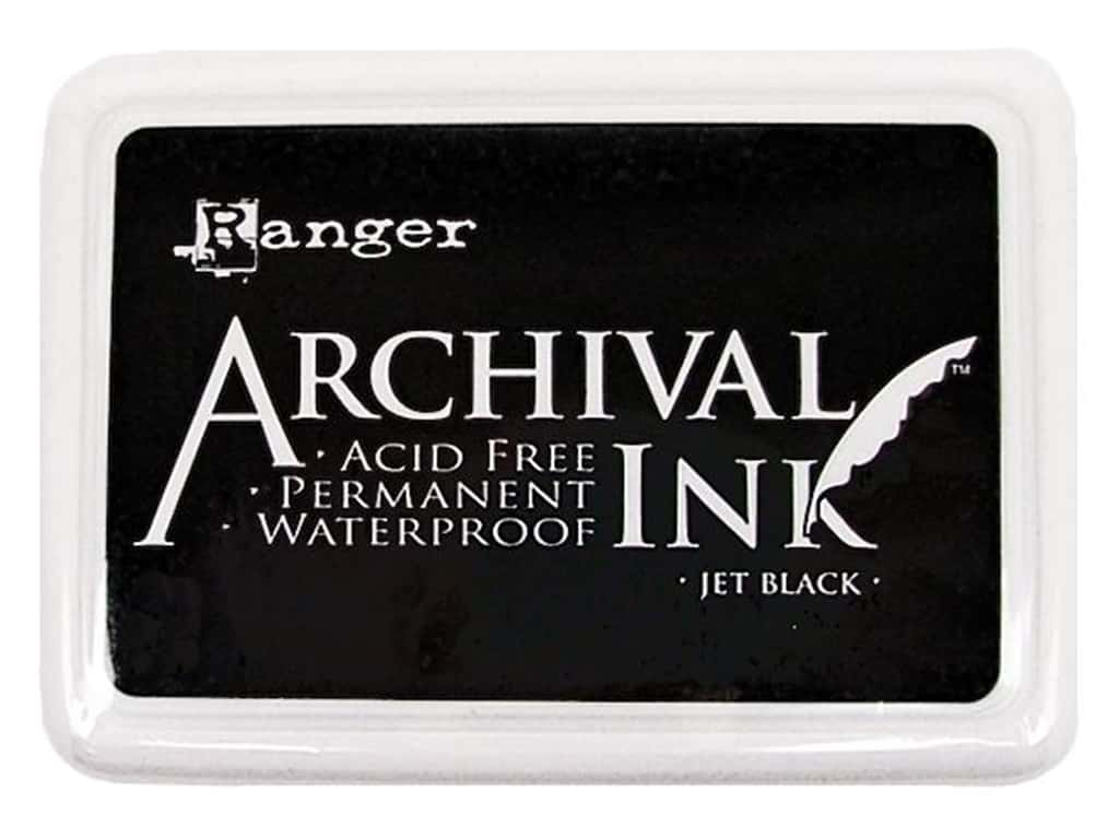 Ranger Archival Ink Pad Jet Black