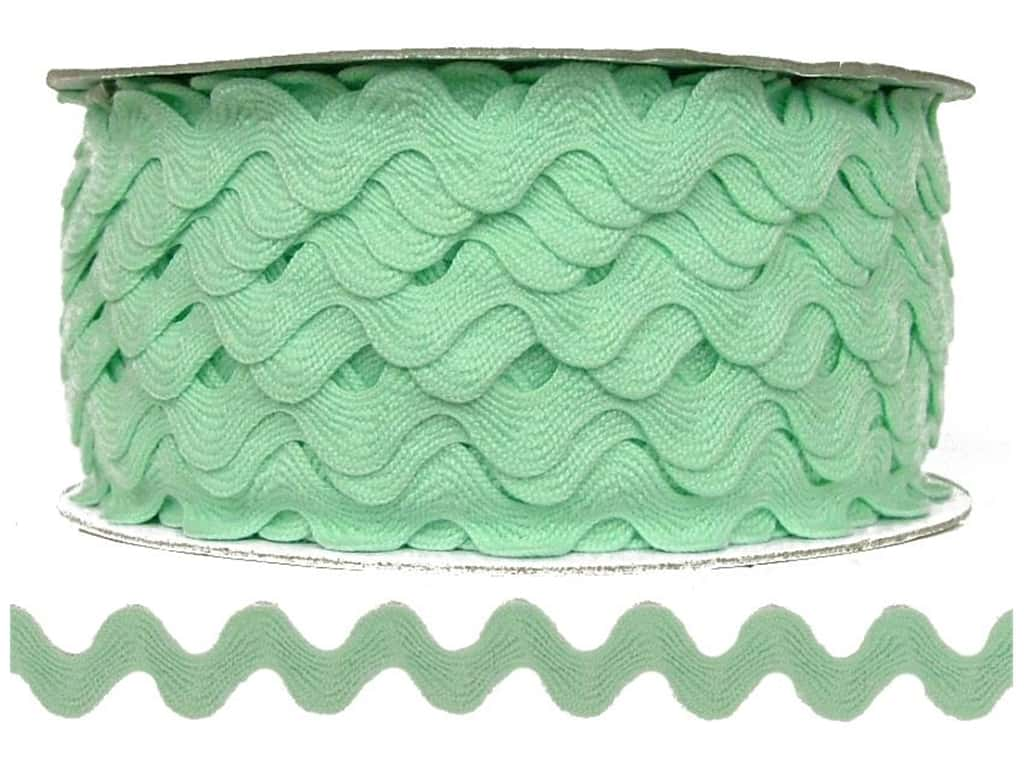Cheep Trims Ric Rac 11/16 in. Mint (24 yards)