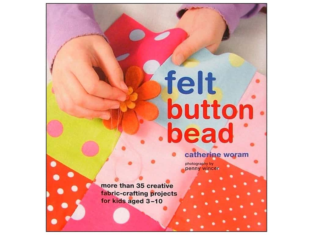 Ryland Peters & Small Felt Button Bead Book