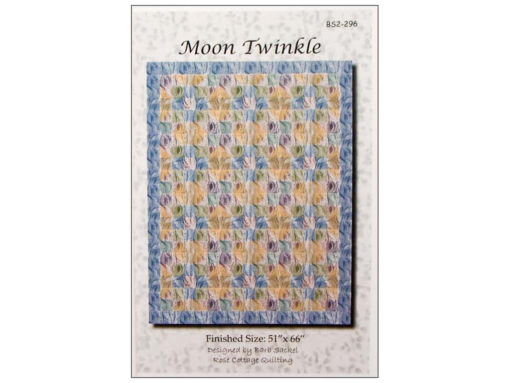 Rose Cottage Quilting Patterns - Moon Twinkle