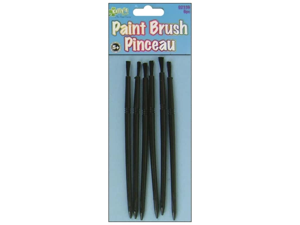Kelly's Paint Brushes 6 pc.