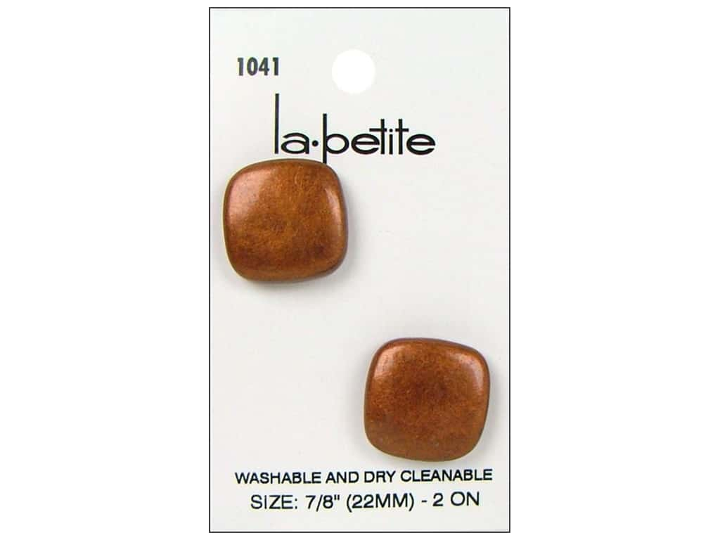 LaPetite Shank Buttons 7/8 in. Copper #1041 2 pc.