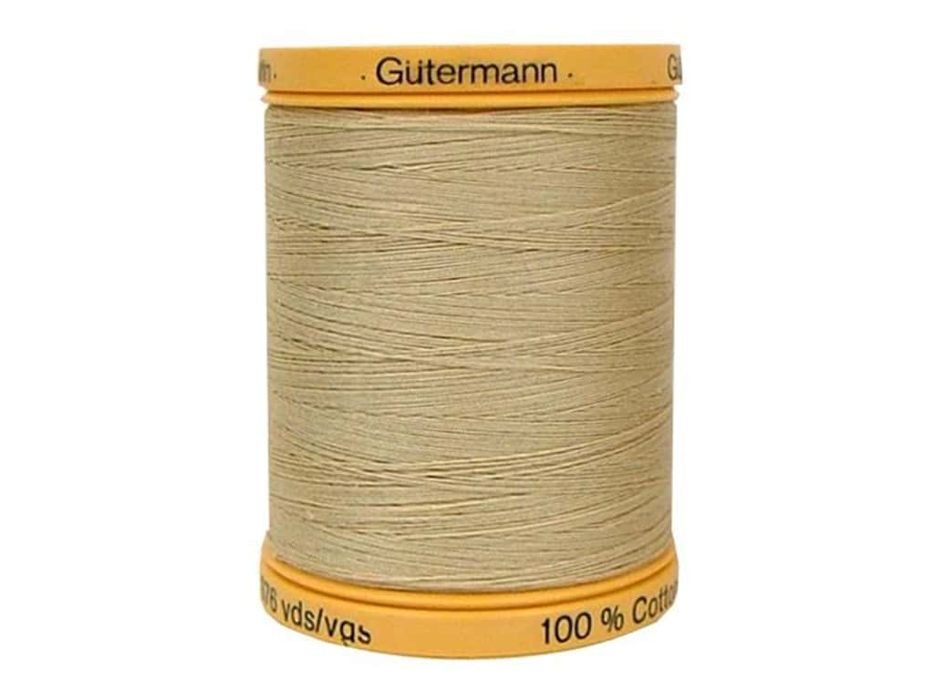 Gutermann 100% Natural Cotton Sewing Thread 875 yd. #927 Burlap Beige