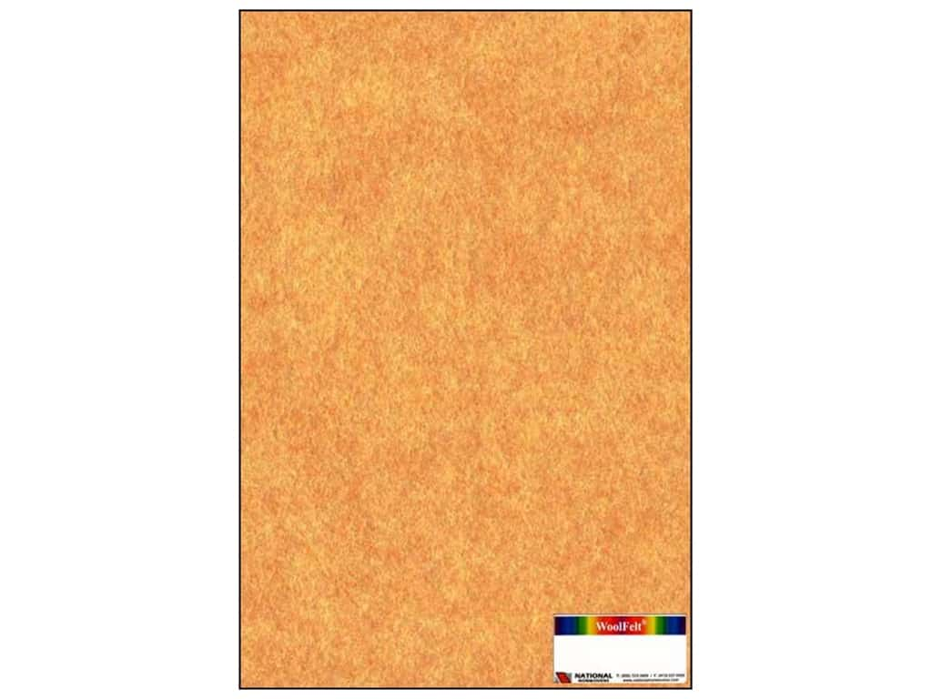 National Nonwovens 20% Wool Felt 12 x 18 in. Terracotta Mist (10 sheets)