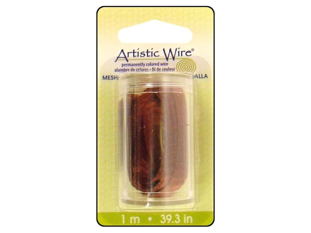 Artistic Wire Mesh 3/8 in. Brown 39 in.