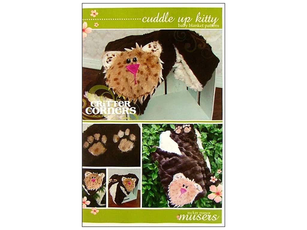 Mckay Manor Musers Cuddle Up Kitty Pattern