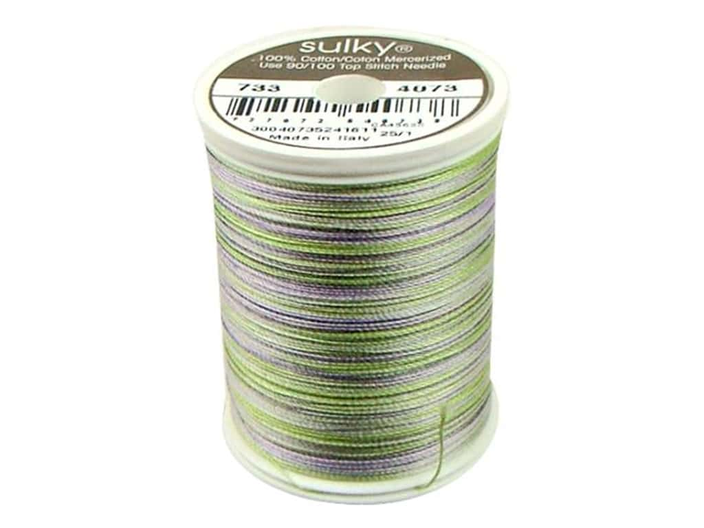 Sulky Blendables Cotton Thread 30 wt. 500 yd. #4073 Lilac Meadow