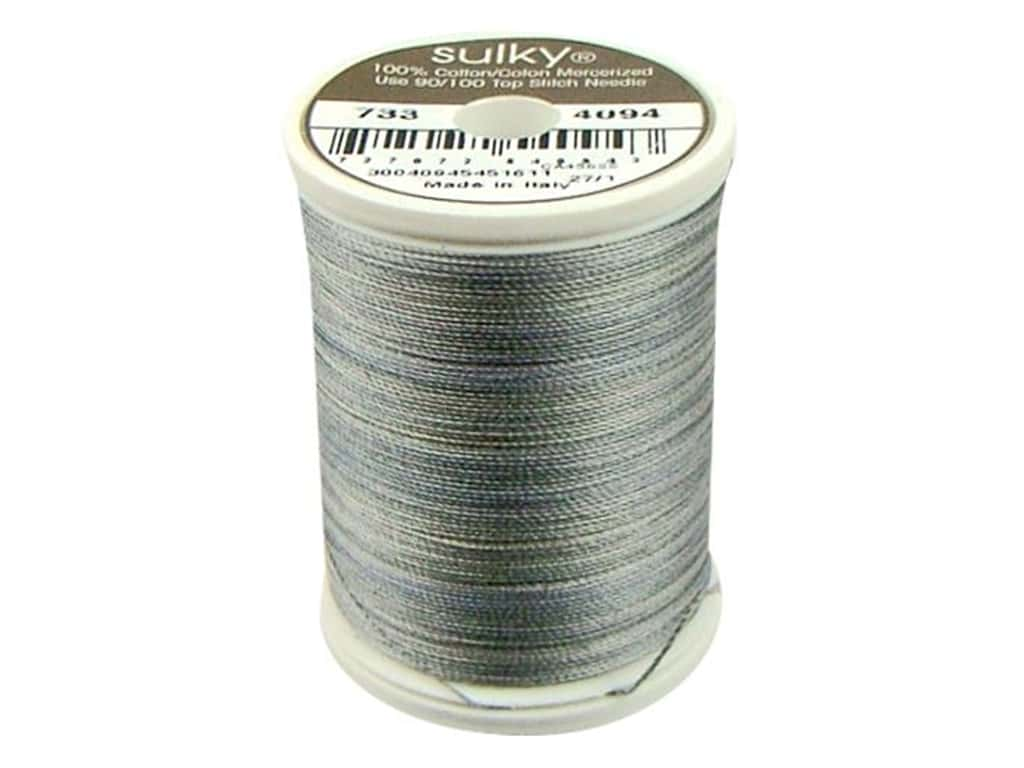 Sulky Blendables Cotton Thread 30 wt. 500 yd. #4094 Granite