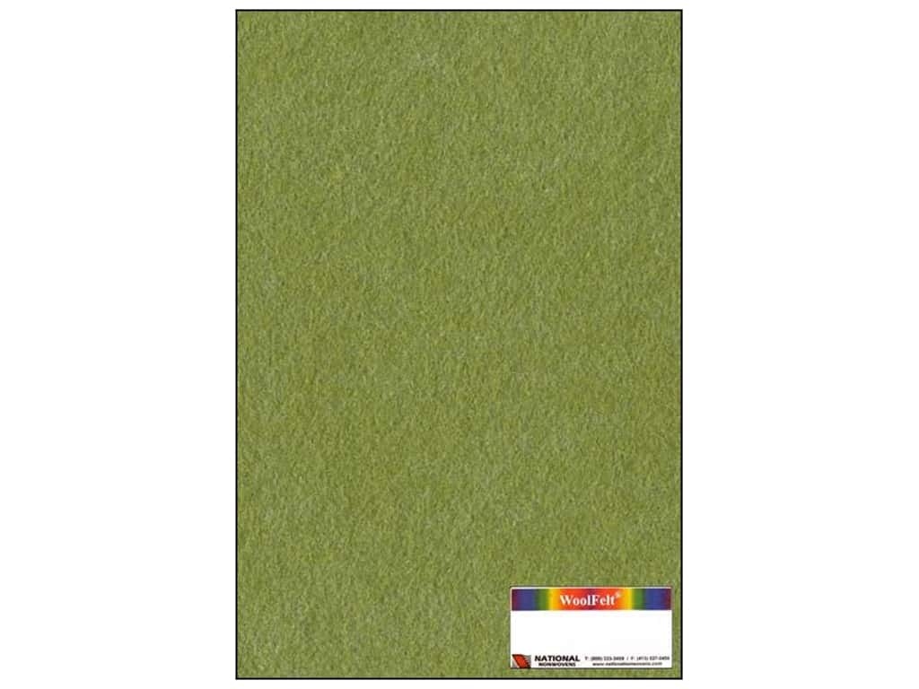 National Nonwovens 35% Wool Felt 12 x 18 in. Shady Grove (10 sheets)