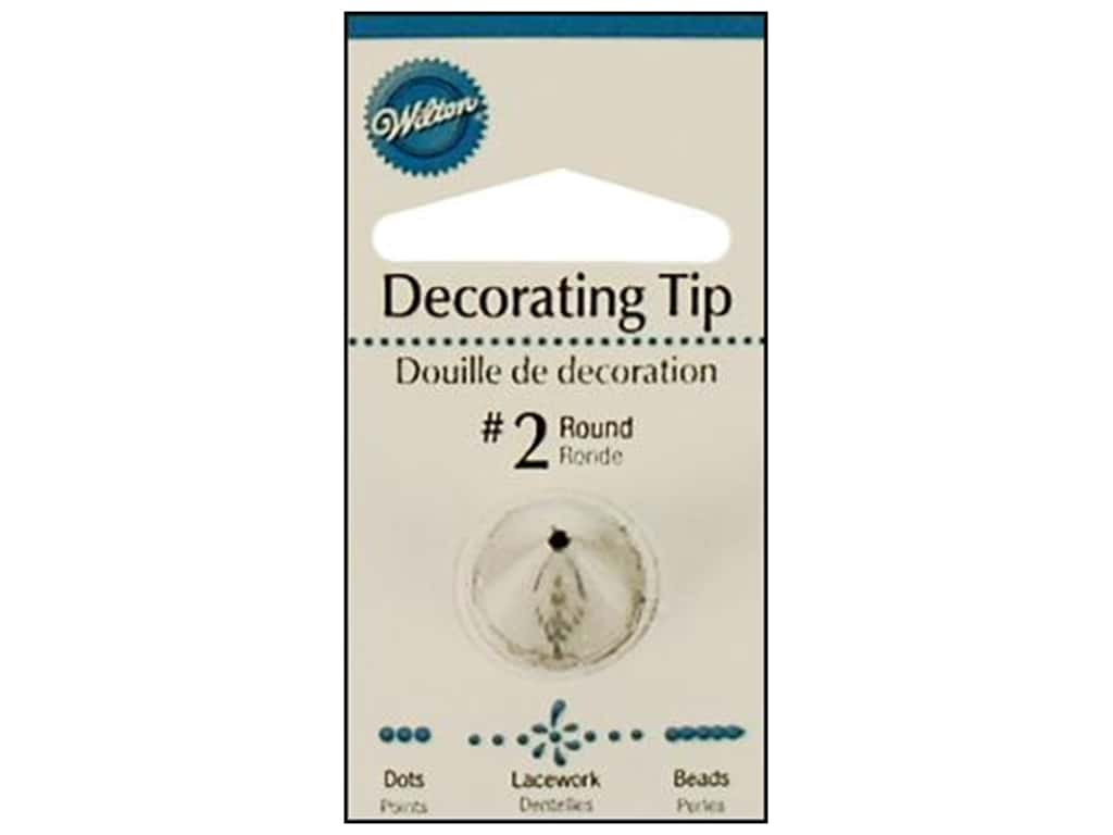 Wilton Tools Decorating Tip Round #2