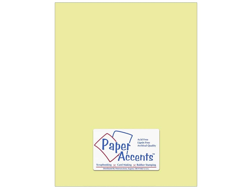 Paper Accents Cardstock 8 1/2 x 11 in. #6160 Smooth Dill 25 pc.