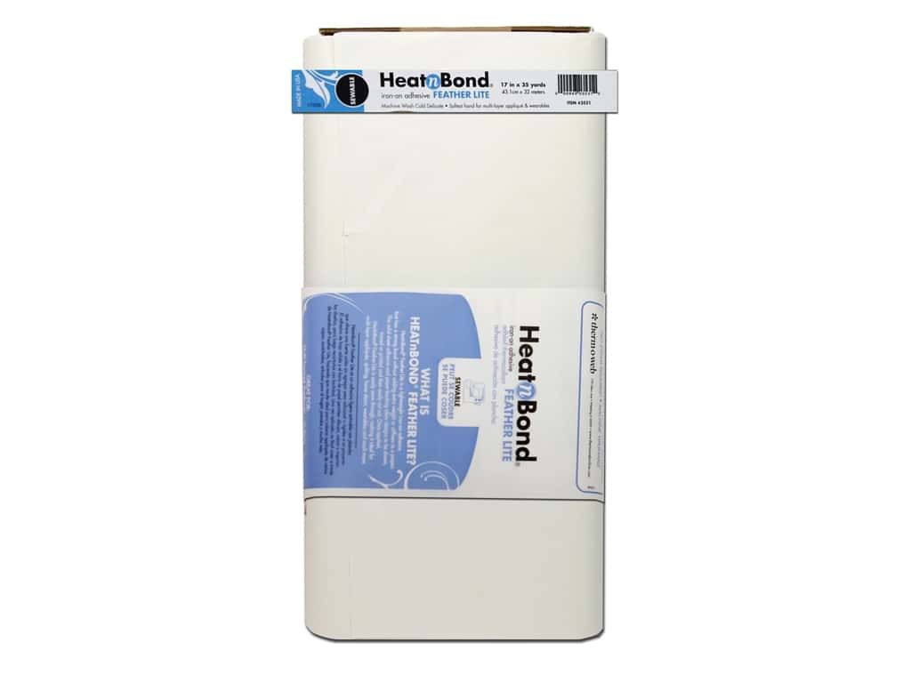 HeatnBond FeatherLite Iron-on Adhesive 17 in. x 35 yd. (35 yards)