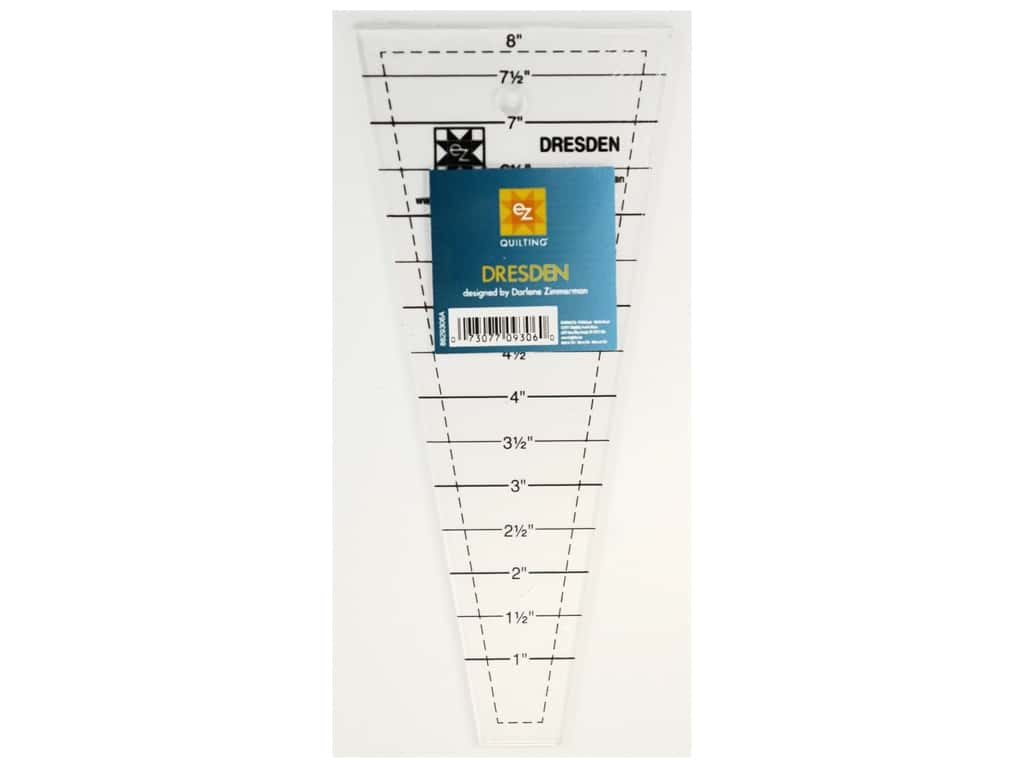 EZ Quilting Easy Dresden 8 in. Acrylic Template
