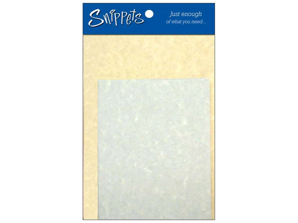 Paper Accents 4 1/4 x 5 1/2 in. Blank Card & Envelopes 3 pc. Parchment