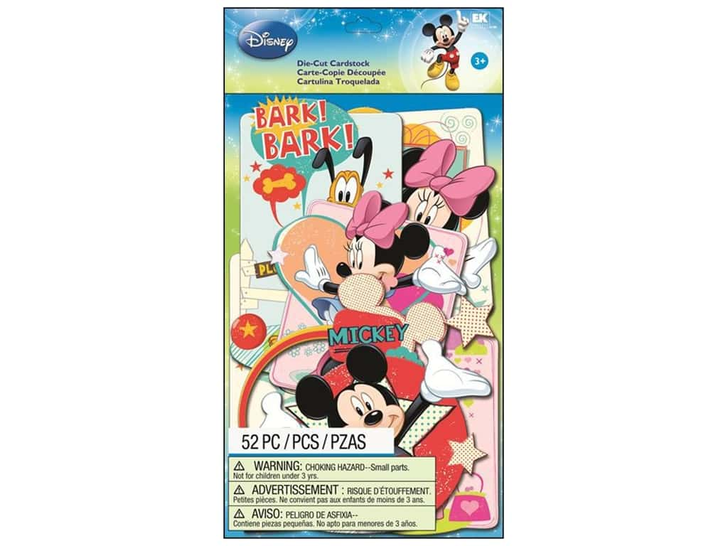 EK Die Cuts Cardstock Disney Mickey