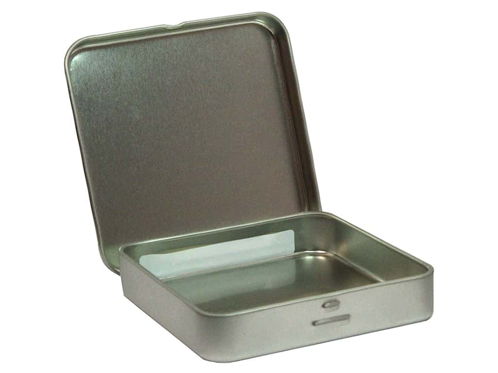 Clearsnap Basic Necessities Tins 3 1/2 in. Square