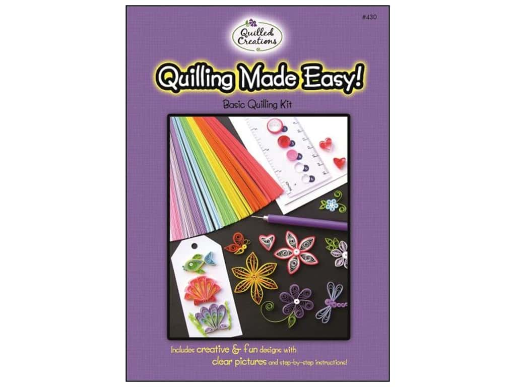 Quilled Creations Quilling Made Easy Kit