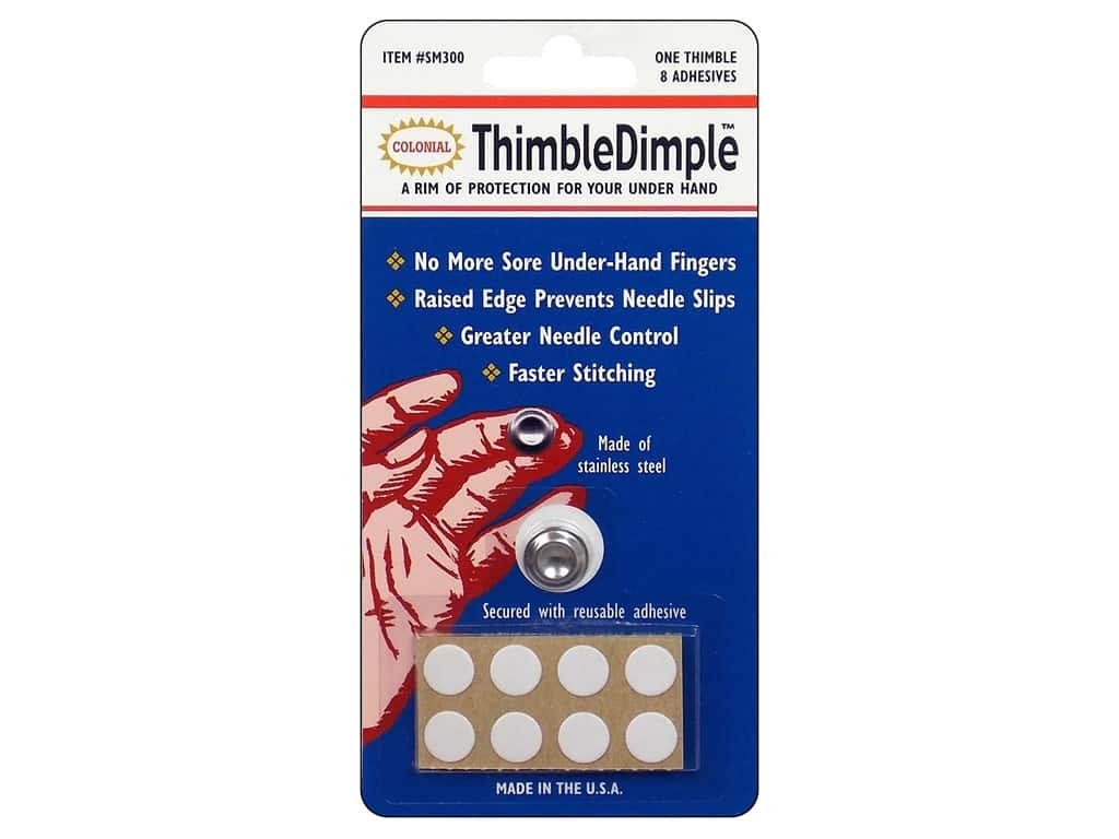 Colonial Needle Thimble Dimple