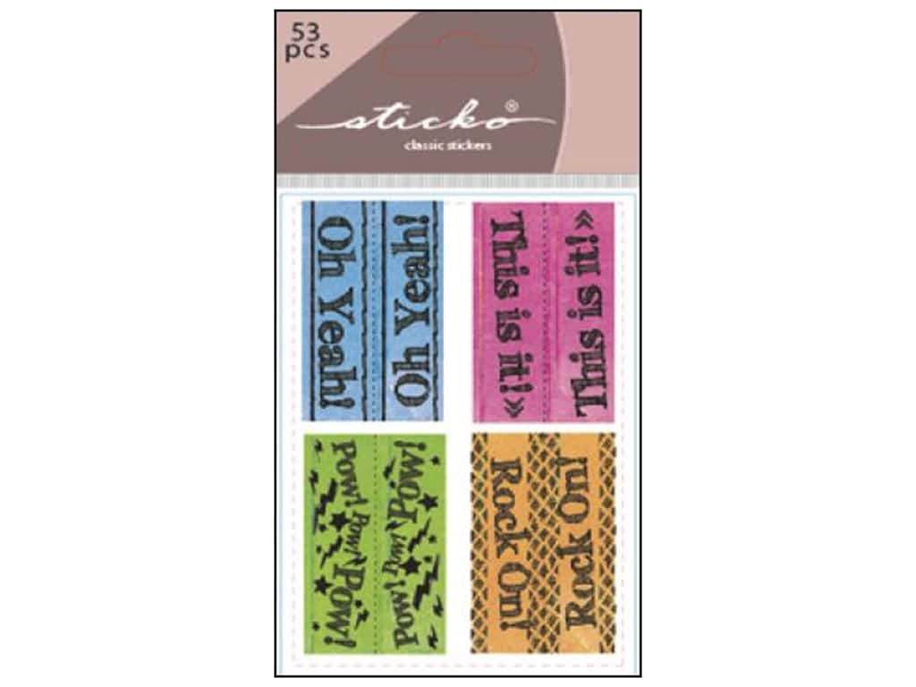 EK Sticko Stickers Functionality Index Tabs Is It