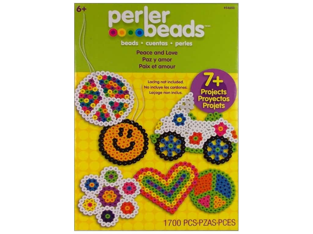 Perler Bead Kit - Peace and Love