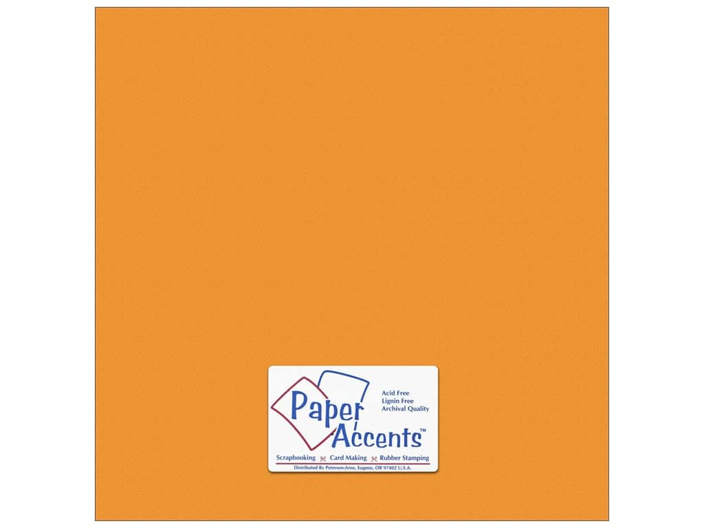 Paper Accents Cardstock 12 x 12 in. #10151 Stash Builder Textured Butternut (25 sheets)