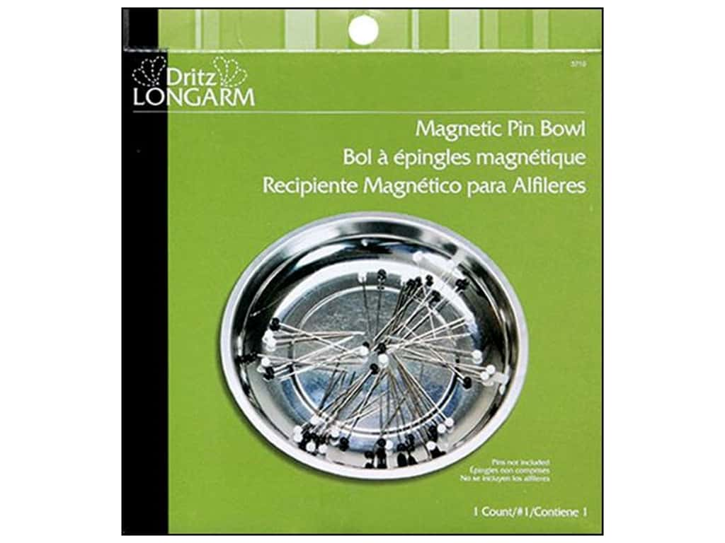 Magnetic Pin Bowl by Dritz Longarm