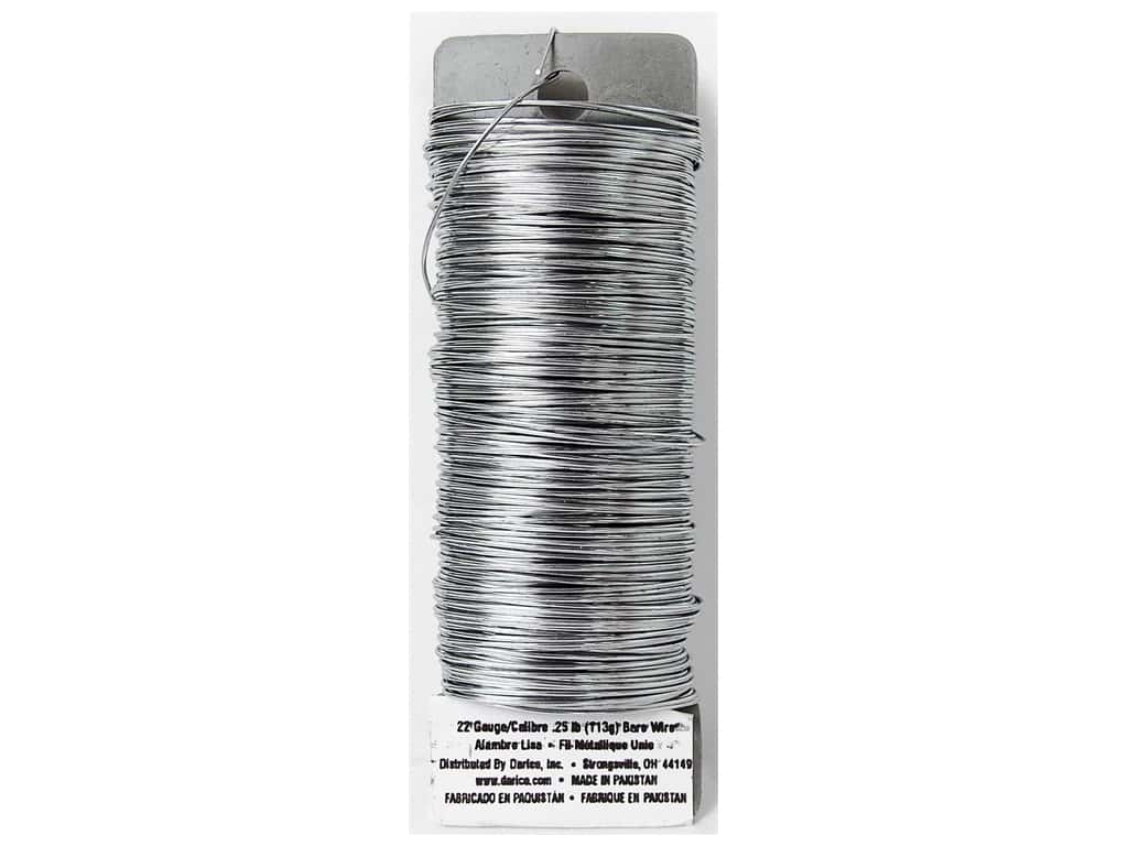 Darice Paddle Wire 22 Gauge Bare 110 ft.