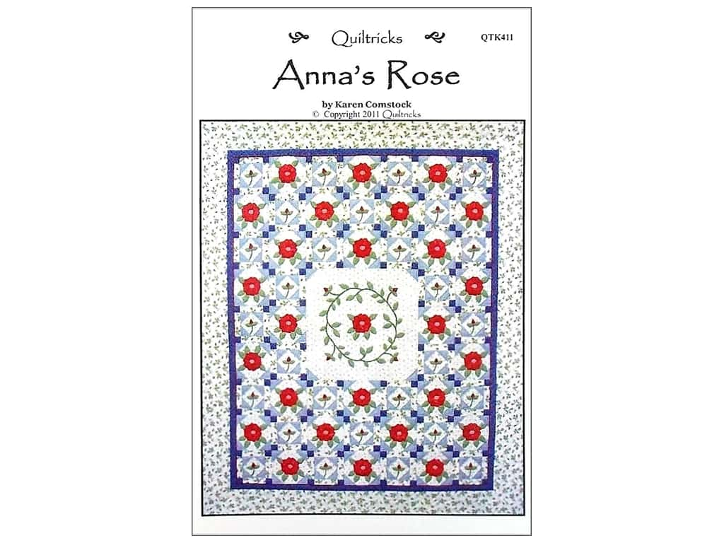 Quiltricks Anna's Rose Pattern