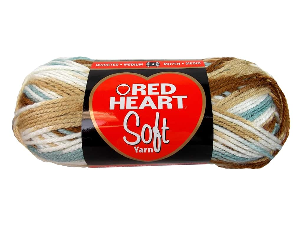 Red Heart Soft Yarn 204 yd. #9934 Icy Pond