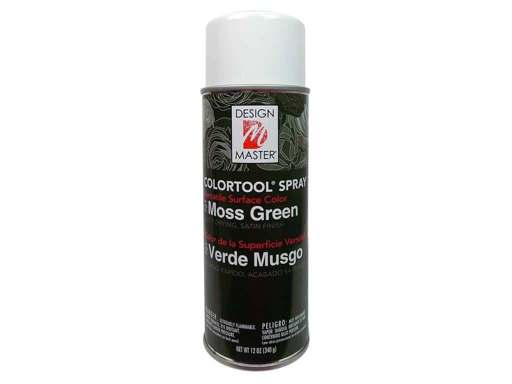Design Master Colortool Spray Paint 12 oz. #721 Moss Green