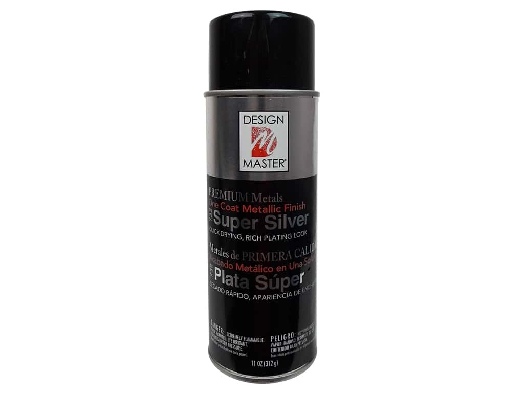 Design Master Colortool Spray Paint 11 oz. #732 Super Silver