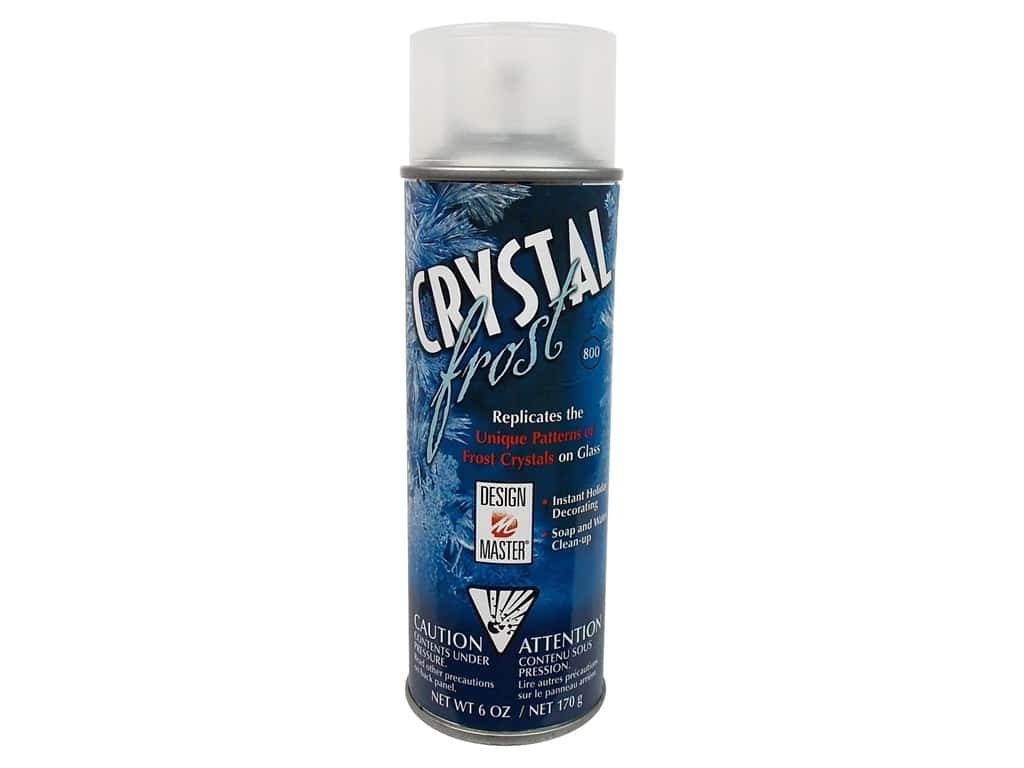 Design Master Crystal Frost Spray 6oz