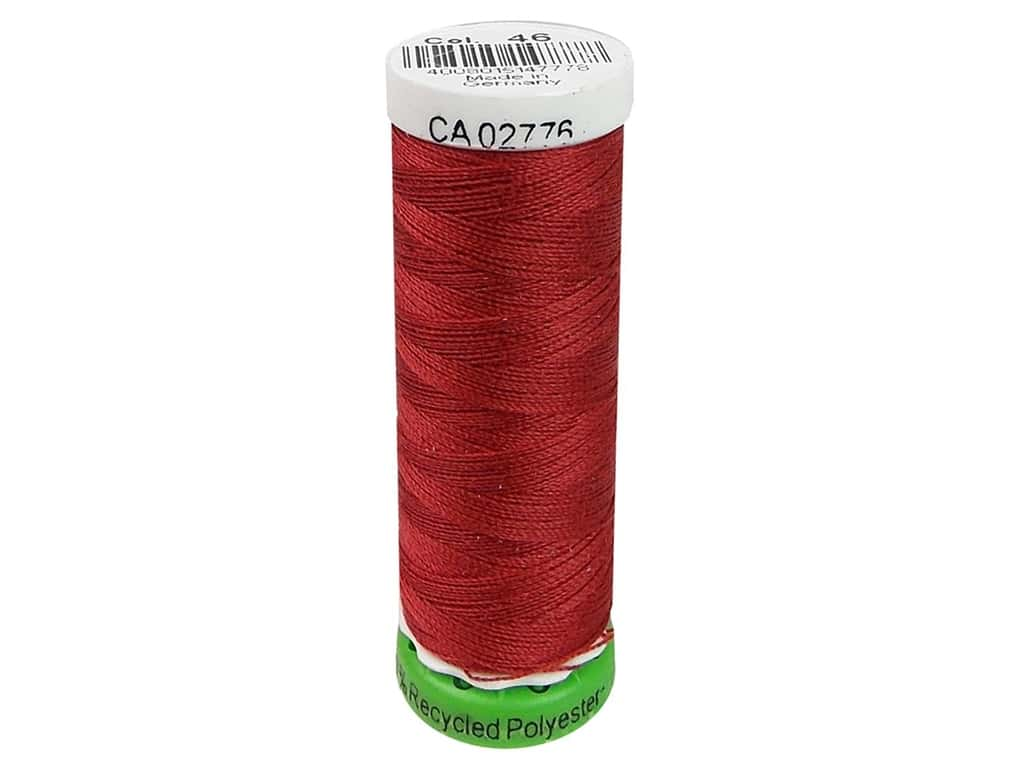 Gutermann Recycled Polyester Thread 110 yd. #046 Chili Red