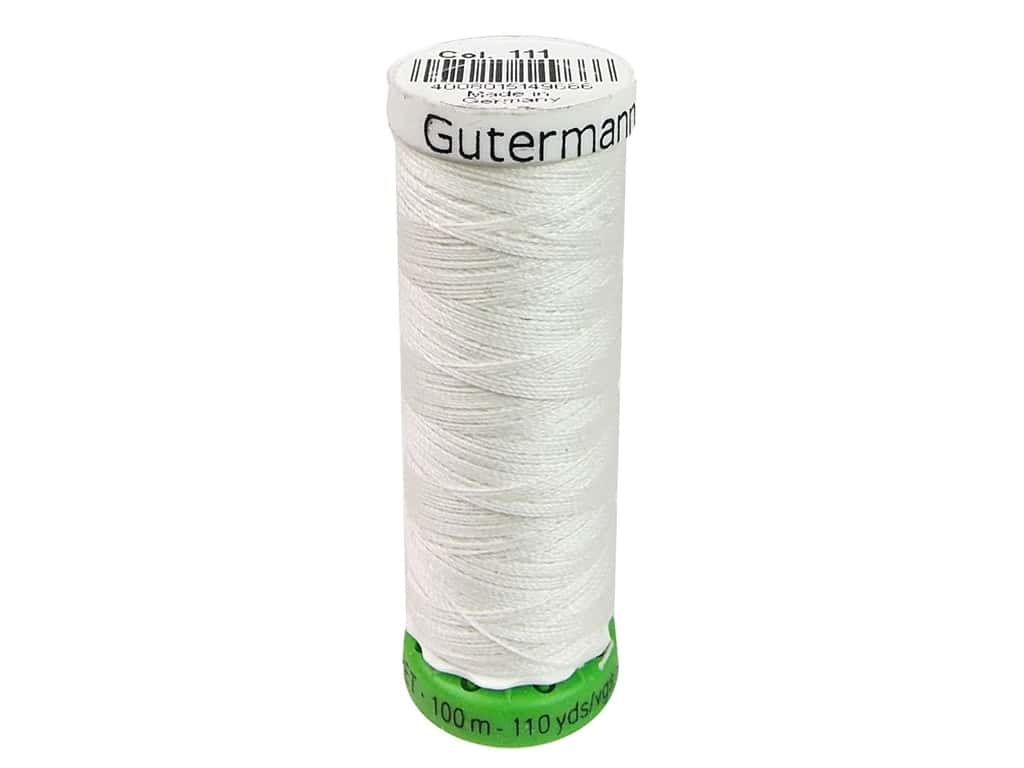 Gutermann Recycled Polyester Thread 110 yd. #111 Oyster
