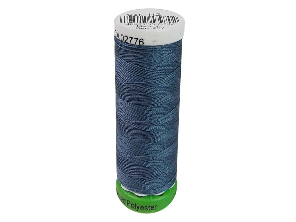 Gutermann Recycled Polyester Thread 110 yd. #112 Slate Blue