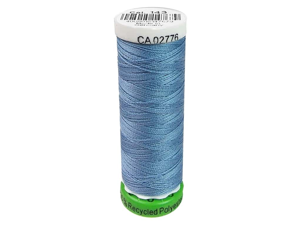 Gutermann Recycled Polyester Thread 110 yd. #143 Copen Blue