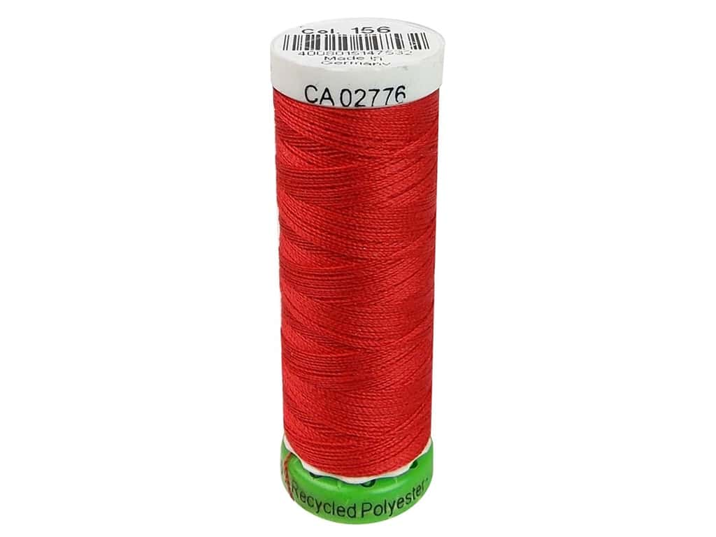 Gutermann Recycled Polyester Thread 110 yd. #156 Scarlet