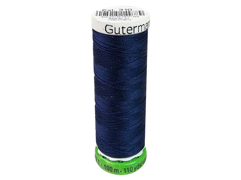 Gutermann Recycled Polyester Thread 110 yd. #310 Navy