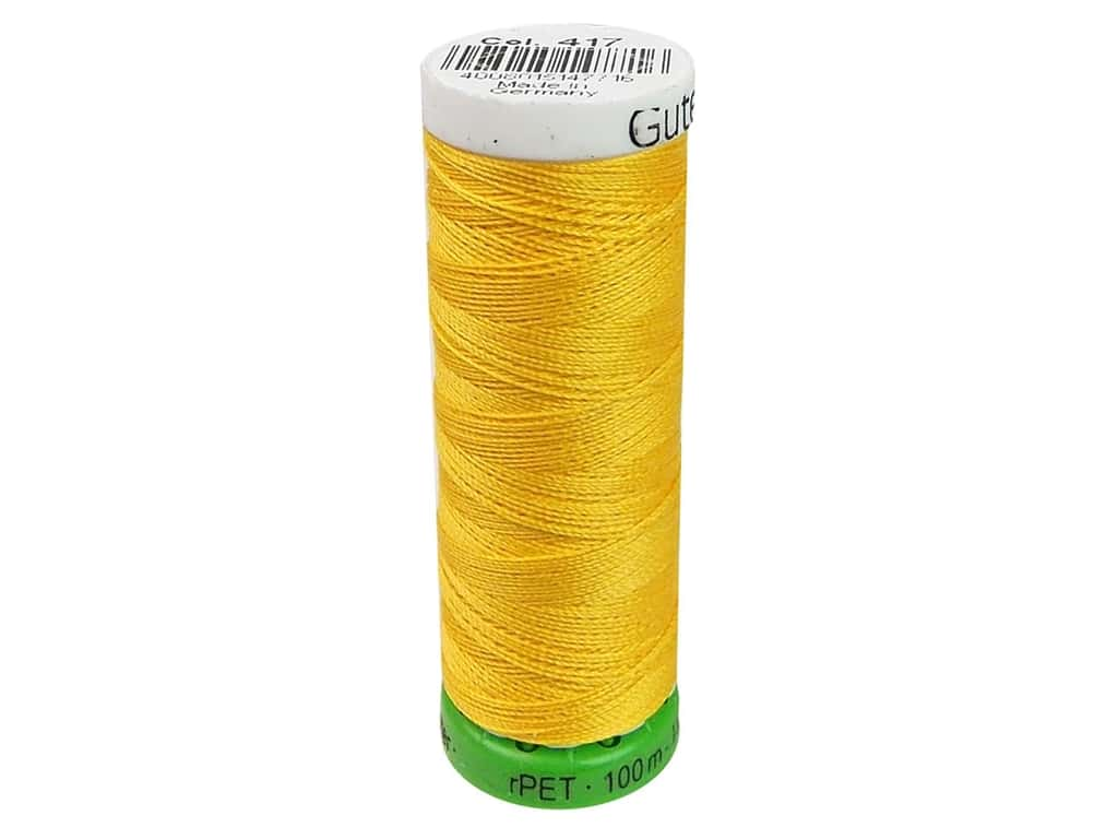 Gutermann Recycled Polyester Thread 110 yd. #417 Saffron