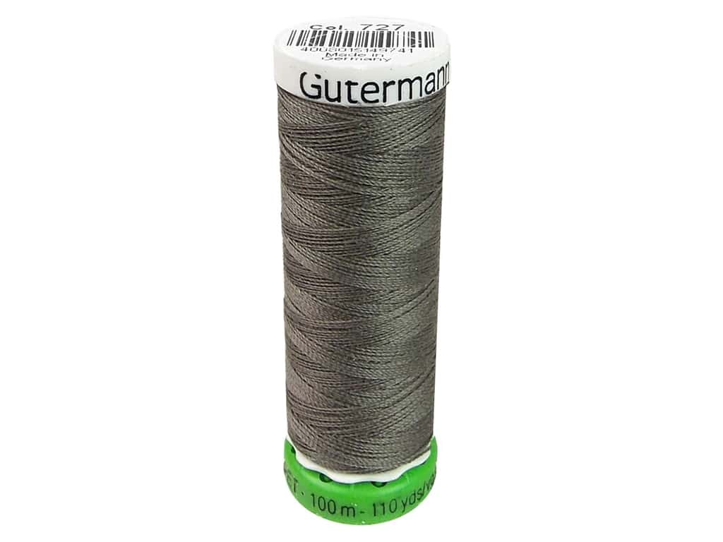 Gutermann Recycled Polyester Thread 110 yd. #727 Dark Beaver