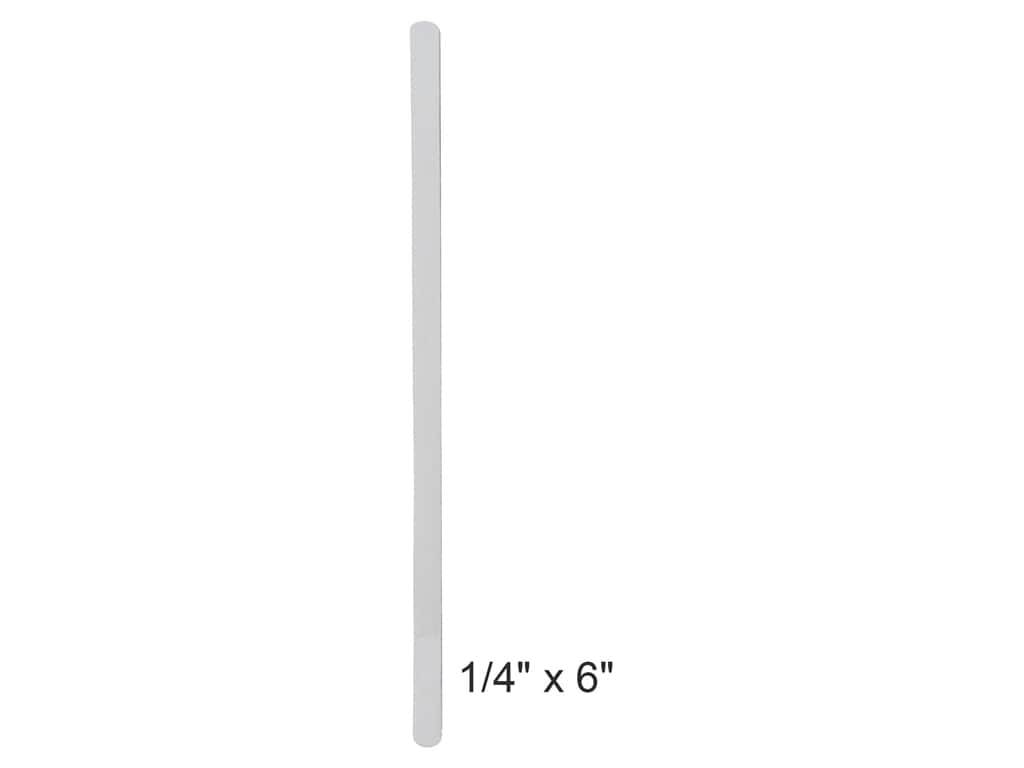 Lacis Steel Boning Stays 1/4 x 6 in. White