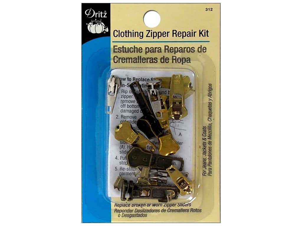 Dritz Zipper Repair Kit - Clothing
