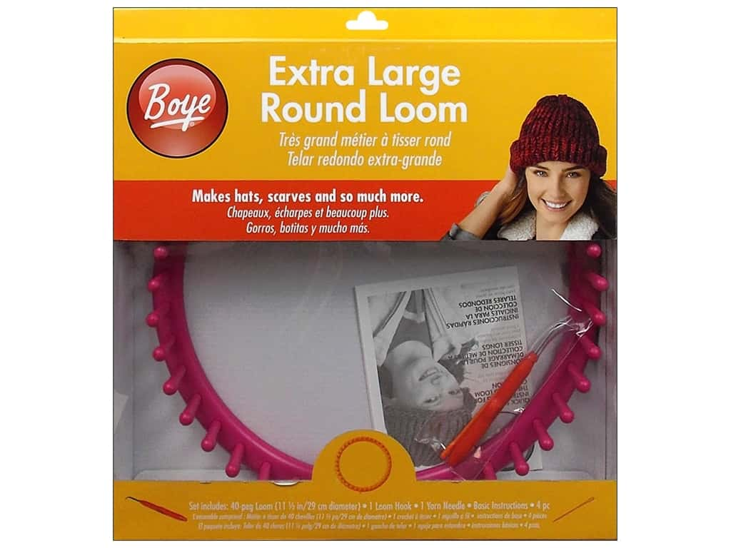 Boye Loom Knitting 11 1/2 in. Extra Large Round Loom
