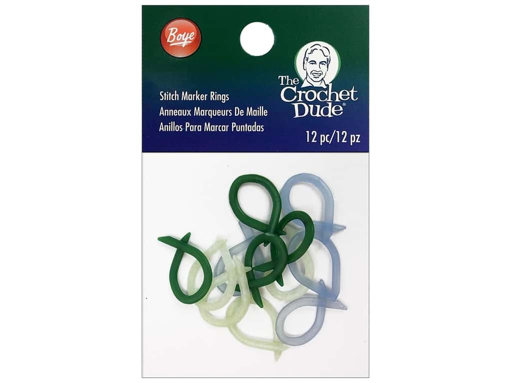 The Crochet Dude Stitch Markers 12 pc.